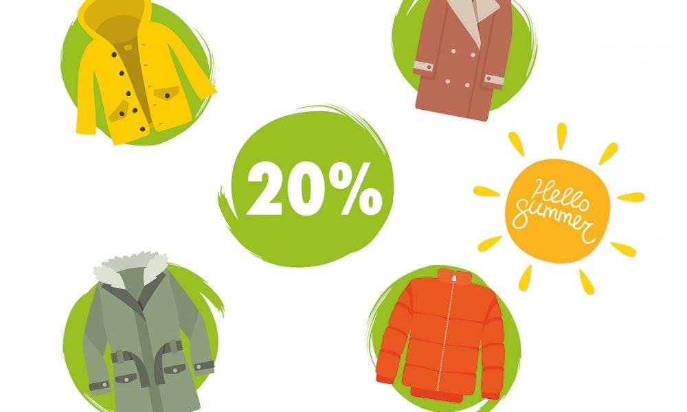 Reinigung Jacken und Mäntel
