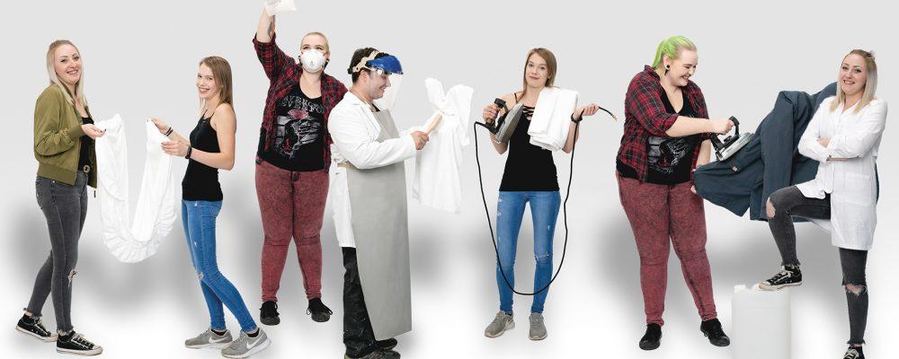Blick hinter die Kulissen: Der Textilreiniger