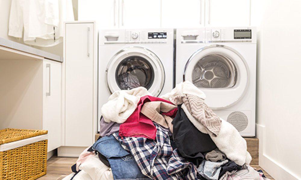 Professionelle Reinigung Wäsche
